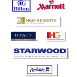 Our work can be found in every major brand of hotel.